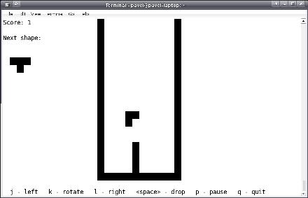 Tetris on T1000